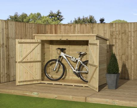 Empire Bike Store Pressure Treated Tongue And Groove 6X3ft